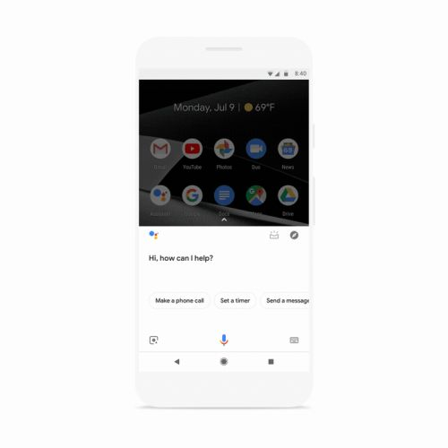 The Google Assistant app will walk you through your day