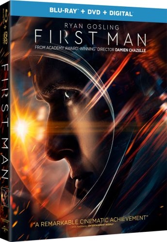 'First Man' Starring Ryan Gosling 4K, Blu-ray, DVD and Digital Release Dates, Details