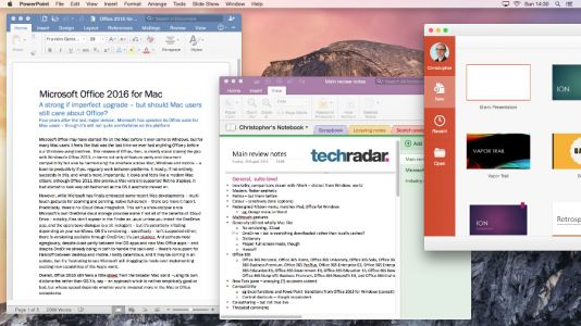 Microsoft Office for Mac gets a major update