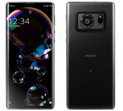 Sharp Aquos R6 is a smartphone with a 1 inch camera sensor