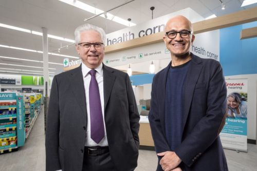 Microsoft is now helping Walgreens fend off Amazon's healthcare push