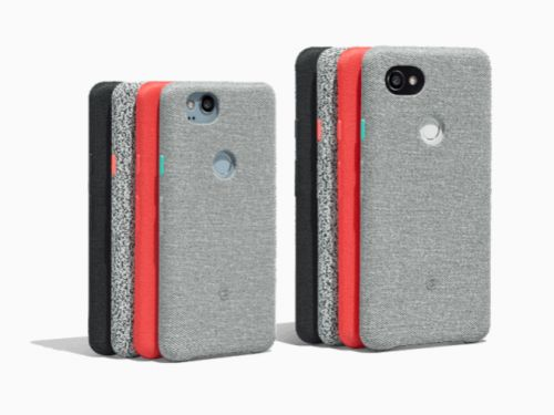 Google's new cases for its Pixel 2 phone put Apple's iPhone cases to shame