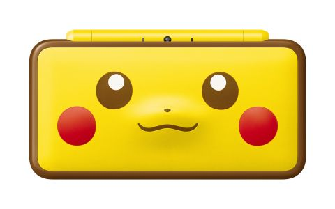 Pikachu 2DS XL is perfect for budding Pokemon detectives