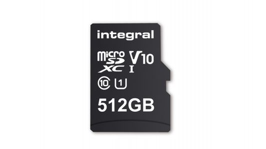 This 512GB microSD card is the biggest on the market - and ready for your phone