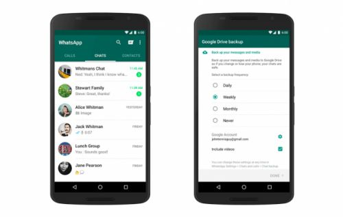 WhatsApp backups won't count against Google Drive storage soon