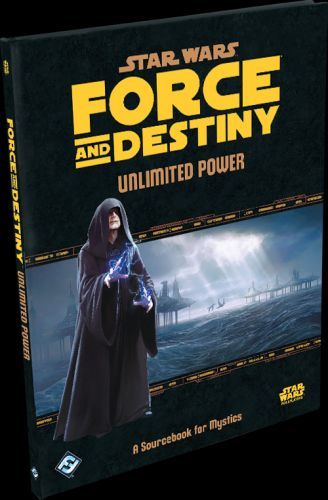 Fantasy Flight Previews Unlimited Power Book for Star Wars RPG