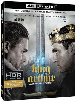 'King Arthur: Legend of the Sword' 4K, 3D, Blu-ray, DVD and Digital Release Date and Details