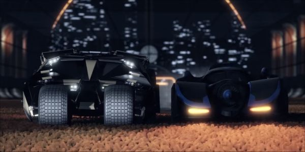 More Batmobiles, Other DC Heroes, Are Coming To Rocket League