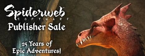 Daily Deal - Spiderweb Software Publlisher Sale, up to 75% Off