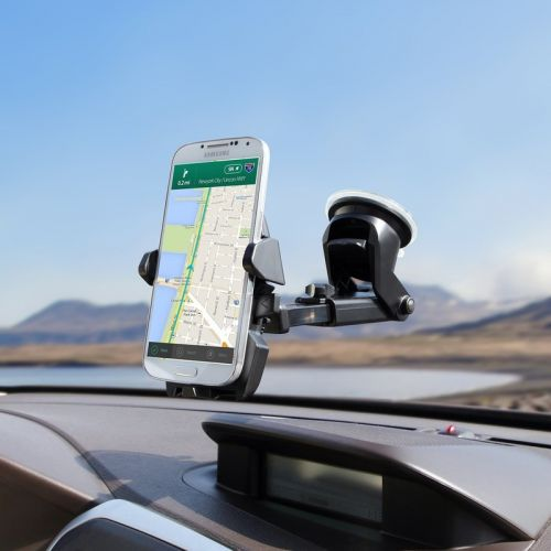 Adhere the iOttie One Touch 2 car mount to your dash or windshield for $12