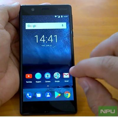 Nokia 3 UI navigation, Motion Gestures & Support app hands-on