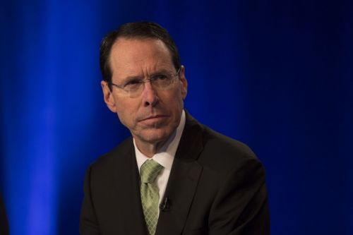 AT&T CEO interrupted by a robocall during a live interview