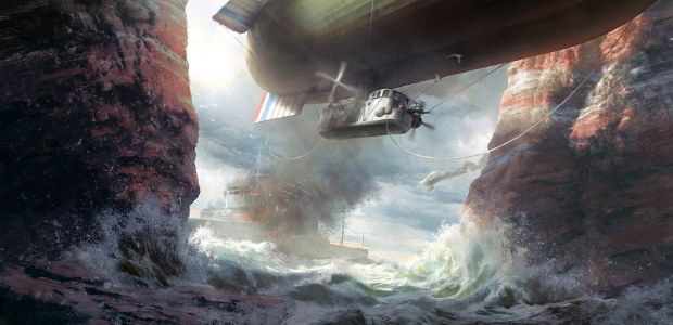 See what you'll see at sea in Battlefield 1's Turning Tides