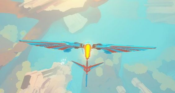 Dreamy flying game InnerSpace is Abzu's awkward cousin