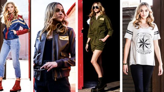 Take Your Fashion Further With Her Universe's New CAPTAIN MARVEL Line