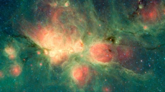 NASA spies big space bubbles forming around newborn stars
