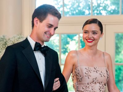 Snapchat CEO Evan Spiegel and supermodel Miranda Kerr are rumored to get married this weekend - here's how he won her over in a year