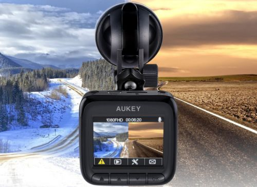 Aukey's Prime Day deal is still going on the dash cam so tiny you'll forget it's there
