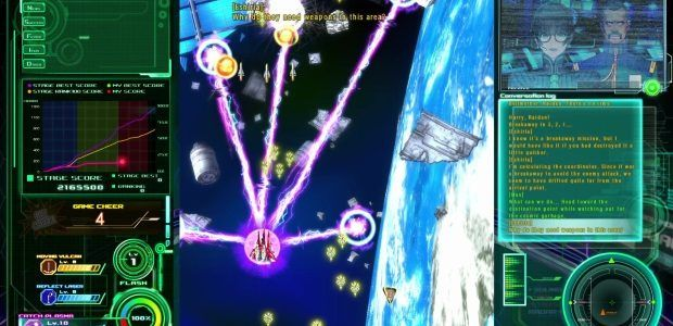 Raiden V brings my favourite pink bendy lasers to PC