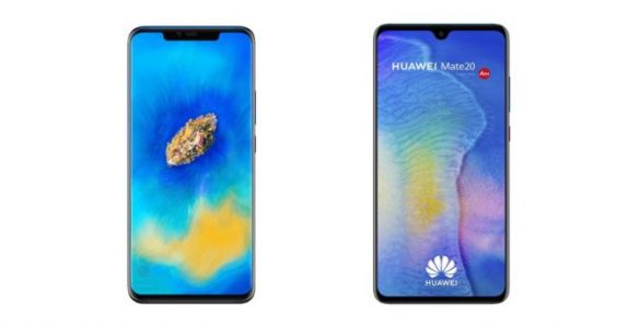 Huawei vante les fines bordures de son Mate 20 Pro face aux iPhone XS Max/XR