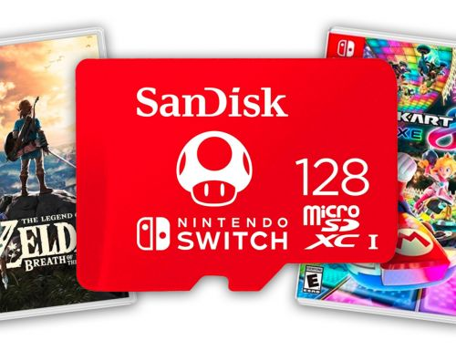 Nintendo Switch's Free Memory Card Deal Returns With A Lot More Games