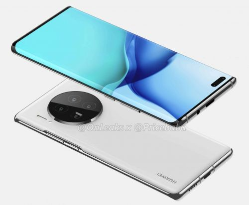 Huawei Mate 40 Pro renders reveal the complete design of the smartphone