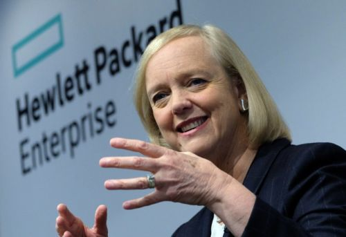 Meg Whitman out as CEO of HPE early next year