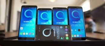 Alcatel 5, 3-series and 1X hands-on