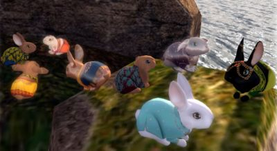 This weekend, Second Life bunnies will starve and die