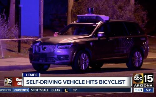 Driverless Uber car kills female pedestrian in first deadly autonomous vehicle crash