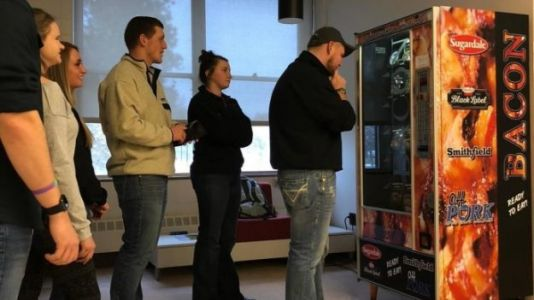 There's Now a Bacon Vending Machine at Ohio State University