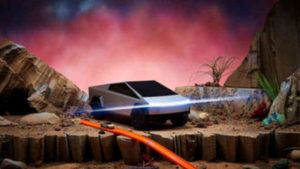 There are now two remote-controlled Cybertruck Hot Wheels cars