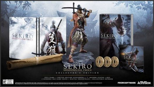Sekiro Shadows Die Twice Collector's Edition up for preorder at GameStop