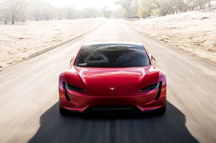 Catch a glimpse of the whips of tomorrow with these Tesla Roadster pictures