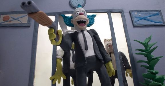 Check Out This Twisted Claymation Mashup Of THE SIMPSONS And RESERVOIR DOGS