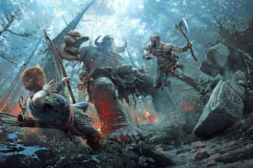 God of War's violent world comes to life in these stunning art prints