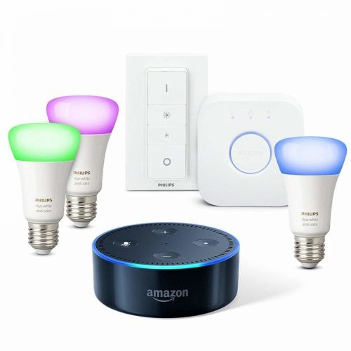 UK Deal: Start your smart home with Echo Dot + Philips Hue bundles from £80