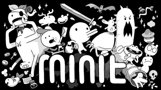 Bite-sized, black-and-white game 'Minit' lands April 3rd