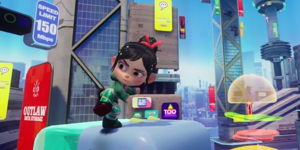 First Look At Ralph Breaks The Internet's New VR Experience In Action