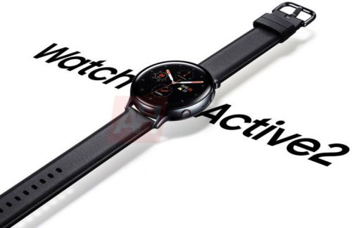 This is our first look at the Galaxy Watch Active 2