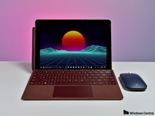 New Surface Go firmware update fixes display calibration issues