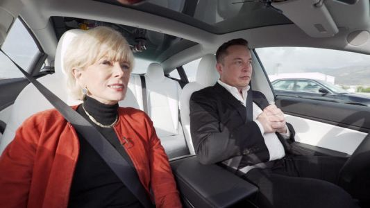 Elon stokes stupidity by driving Tesla Model 3 unsafely on 60 minutes