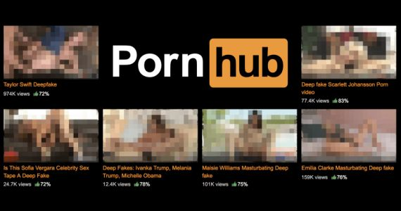Pornhub promised to ban 'deepfakes' videos. And it failed miserably