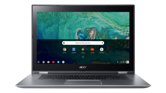 Acer Chromebook Spin 15 is the world's first 15-inch, 2-in-1 Chrome OS laptop