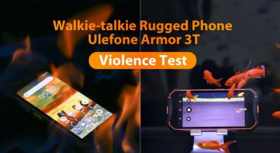Rugged Ulefone Armor 3/3T gets yet another violent testing