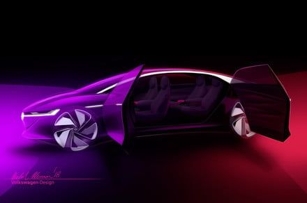 Volkswagen's electrification plan takes a luxurious turn with the I.D. Vizzion
