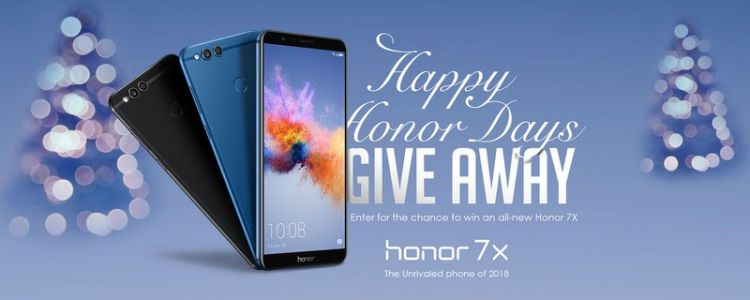 We're giving away the Honor 7X - Enter now!