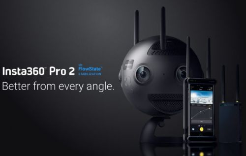 Insta360 Pro 2 camera has creators covered from start to finish