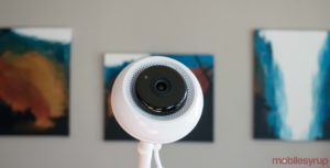 Infani is a super high-tech baby spy cam