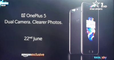 OnePlus 5 all but officially revealed in India